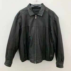 Wilsons Pelle Leather Thinsulate Lined Jacket XL